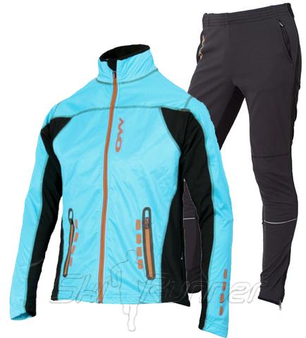 Женский лыжный костюм One Way Catama Turquoise