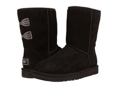 UGG Australia Crystal Bow Black