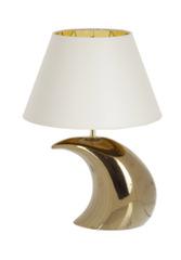 Элитная лампа настольная Луна Gold бежевая от Sporvil