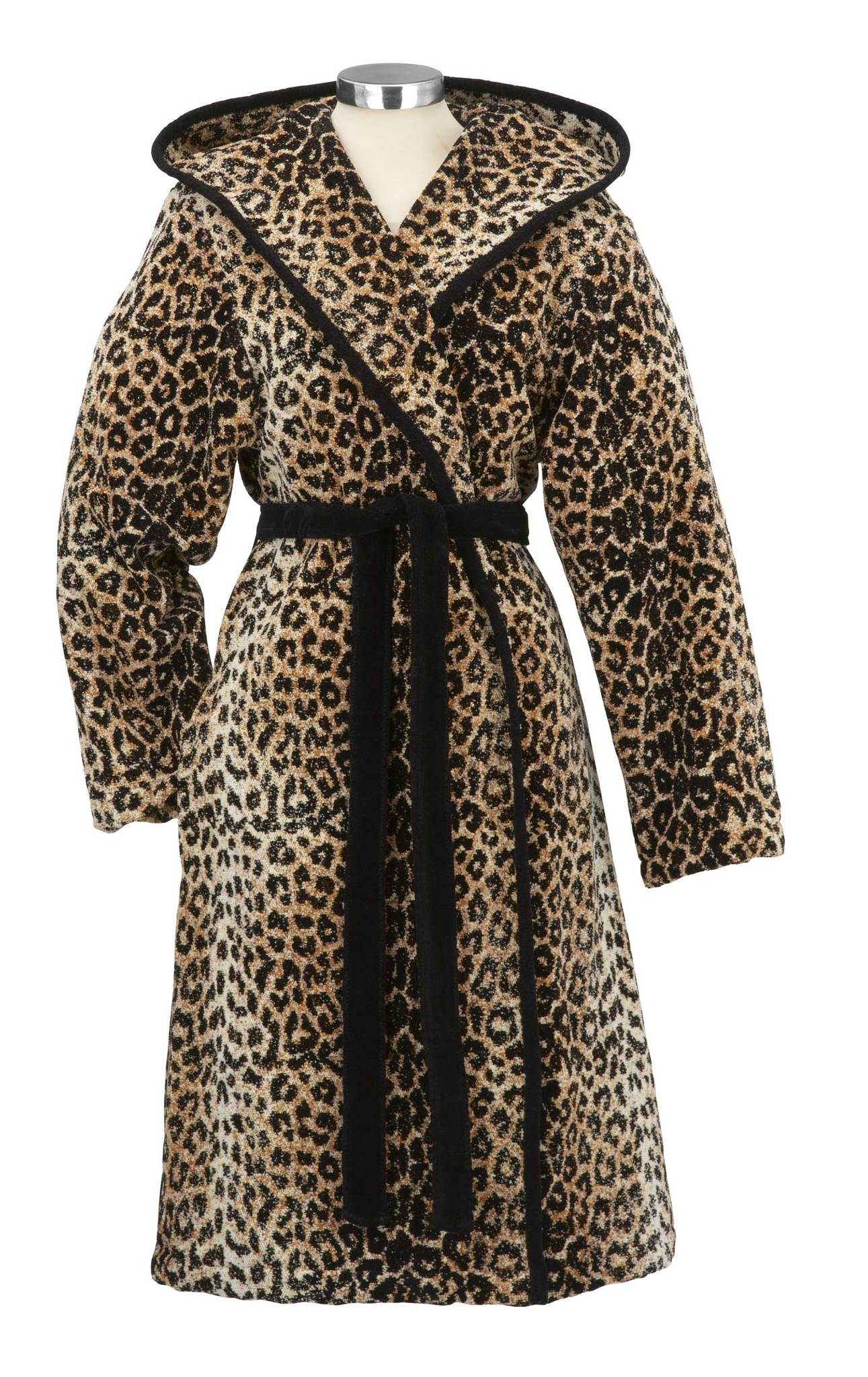 Элитный халат шенилловый Safari Pauline 10 schwarz от Feiler