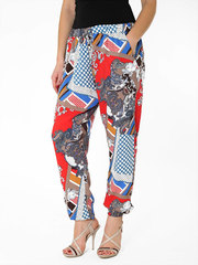 005-1 брюки женские, синие