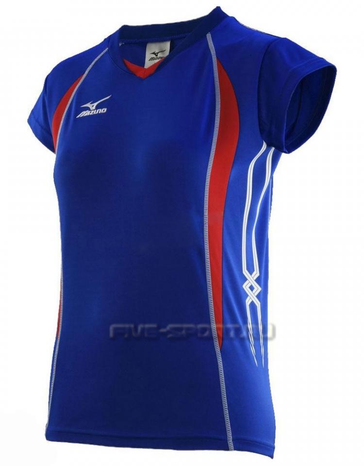Mizuno Premium W's Cap Sleeve Футболка волейбольная - купить в Five-sport.ru 79TW150 22