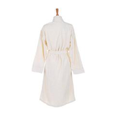 Элитный халат-кимоно велюровый Zebrona молочный от Roberto Cavalli