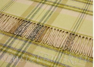 Пледы Плед шерстяной 140x185 Bronte Heather Check Apple elitnyy-pled-sherstyanoy-heather-check-apple-ot-bronte.jpg
