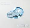 5500 Бусина - капля Сваровски Aquamarine 9х6 мм