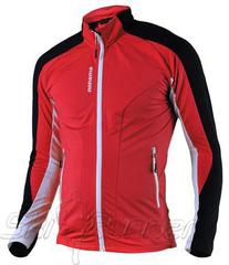 Утепленная беговая рубашка Noname Thermo Red