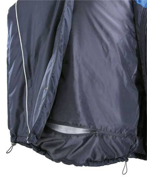Мужская куртка Asics FIRE Jacket (T294Z2 5043) синяя