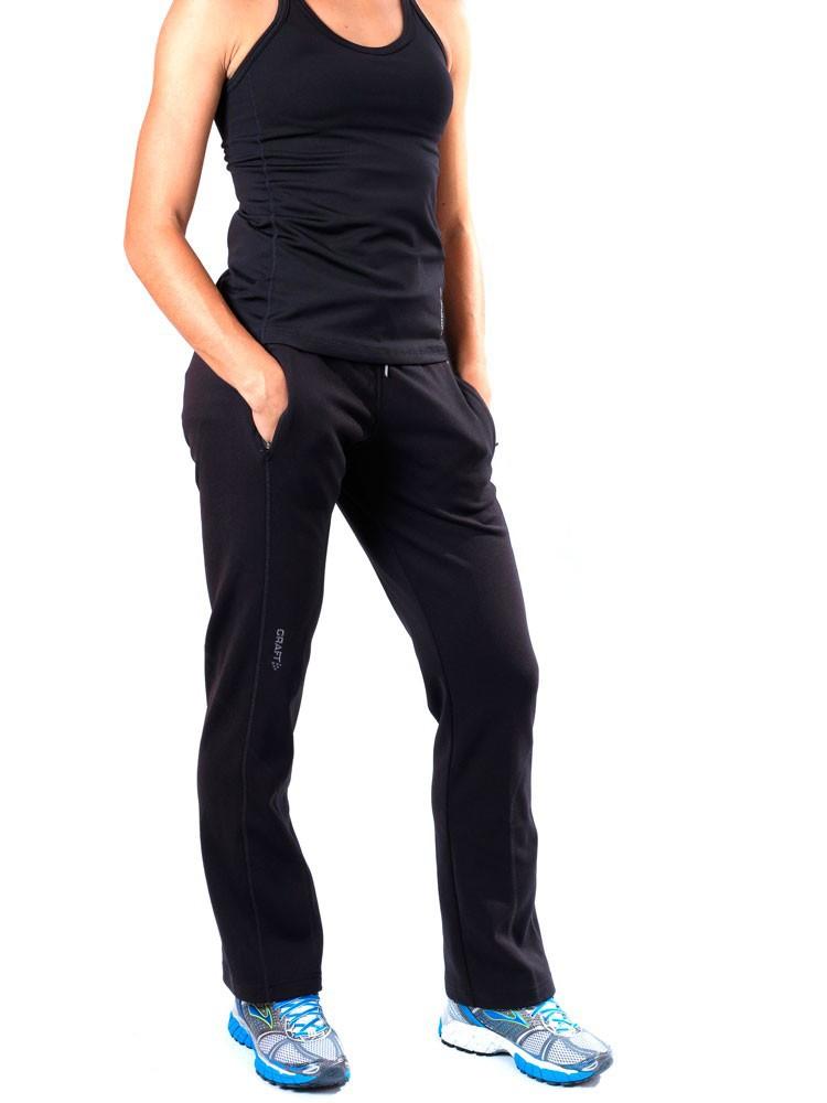 193875-1999 Брюки Craft Flex Straight женские черные