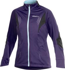 Лыжная куртка Craft PXC High Performance женская фиолетовая