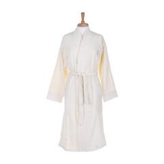 Халат-кимоно Roberto Cavalli велюровый Zebrona молочный