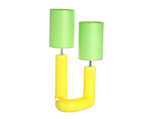 Элитная лампа настольная Вила-ду-Конди желтая от Sporvil