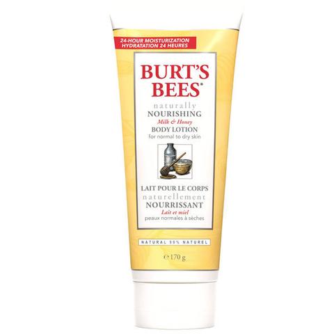 Увлажняющий лосьон для тела с молоком и медом, Burt's Bees
