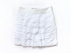 91277 юбка белая