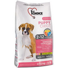 1st Choice Puppy Sensitive Skin&Coat