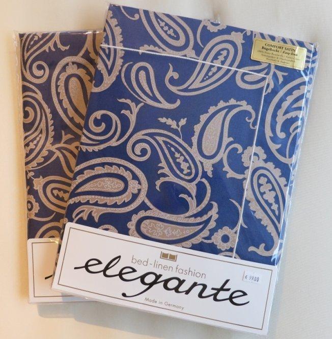 Элитный пододеяльник Vesto синий от Elegante