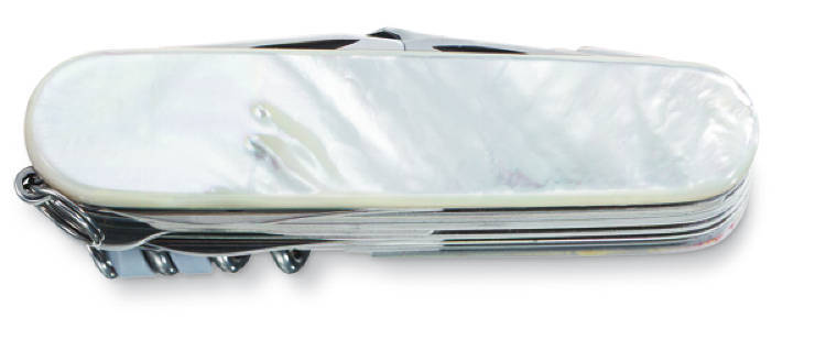 Офицерский нож Victorinox Swisschamp натуральный перламутр (1.6791.68)