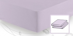 Элитная простыня трикотажная 8000 лаванда от Elegante