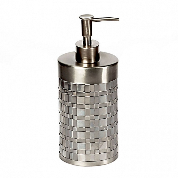 Дозаторы для мыла Дозатор для жидкого мыла Avanti Basketweave Silver dozator-dlya-zhidkogo-myla-basketweave-silver-ot-avanti-ssha-kitay.jpg