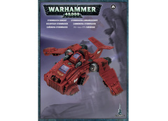 Space Marines Stormraven Gunship. Коробка