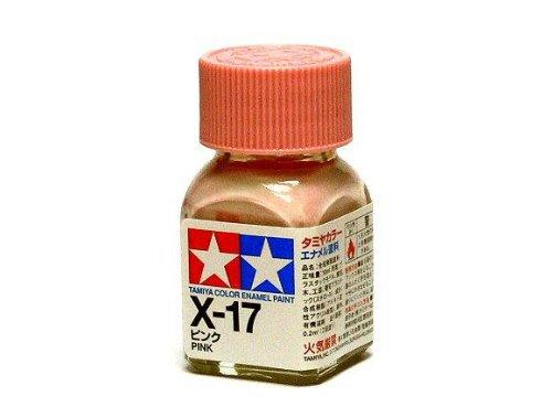X-17 Краска Tamiya Розовая Глянцевая (Pink), эмаль 10мл