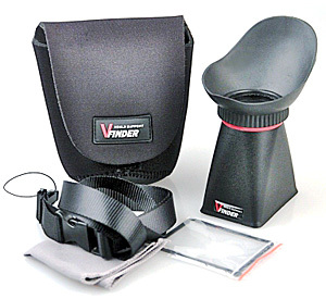 ������������ LCD Viewfinder GP-3232 ���������� �� ������������� �������� � ����������� �������. ��������� � ������������� Canon 5D