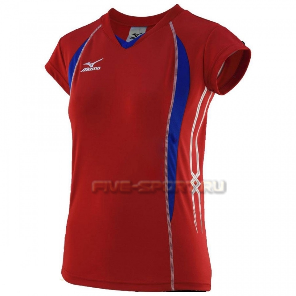 Mizuno Premium W's Cap Sleeve Футболка волейбольная - купить в Five-sport.ru 79TW150 62