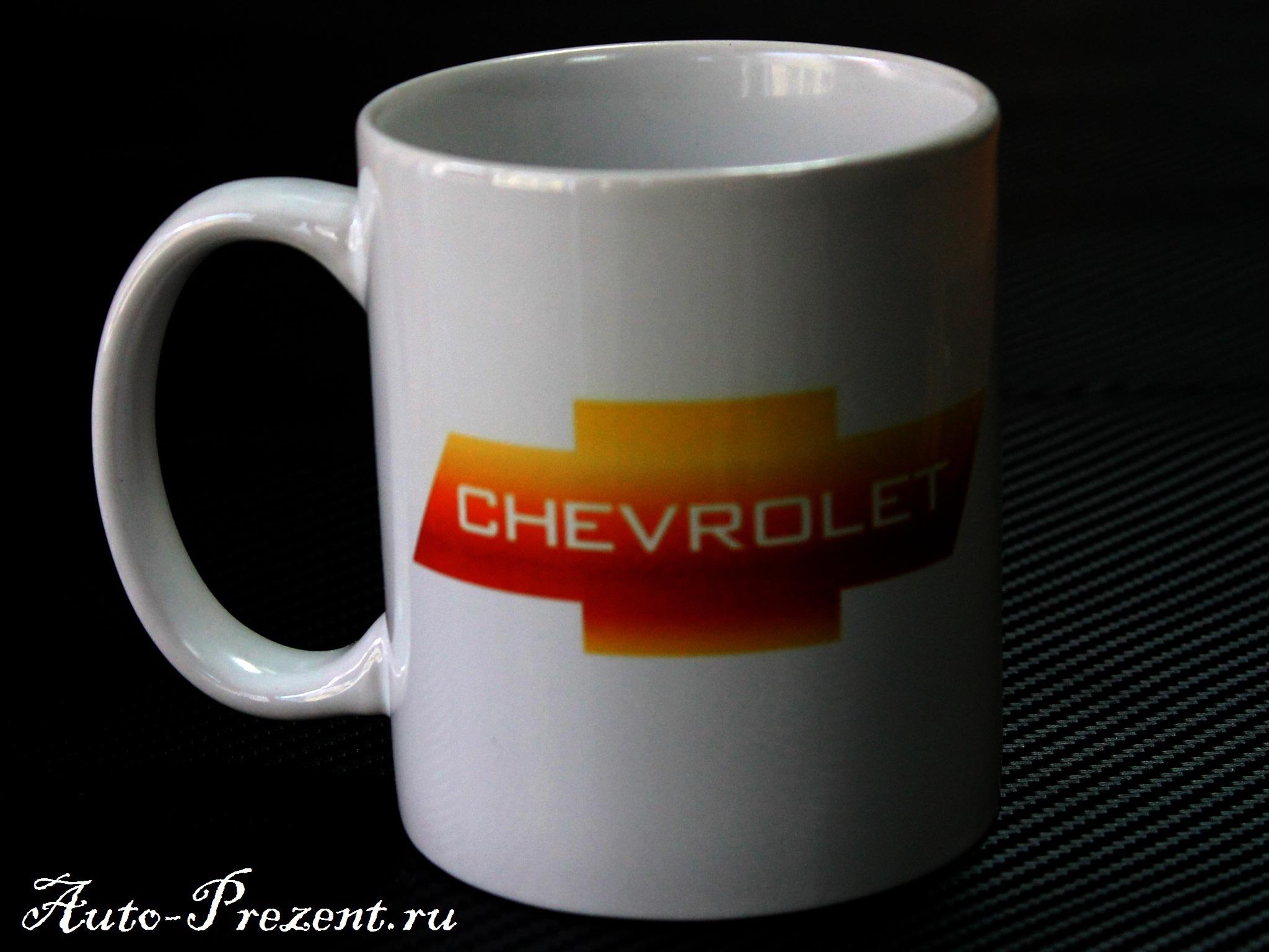 Кружка с логотипом CHEVROLET