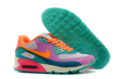 Кроссовки Женские Nike Air Max 90 HYP Orange Pink Green