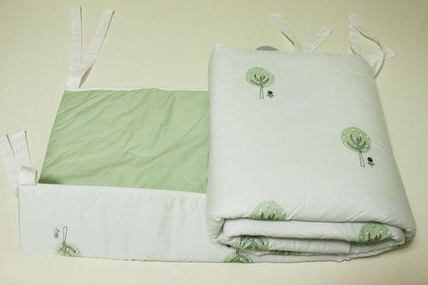 Бампер для детской кроватки 195х45 Bovi Деревья