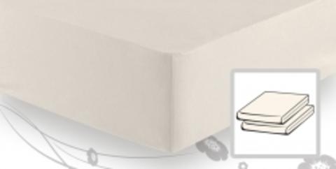 Элитная простыня трикотажная 8000 натуральная от Elegante