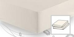 Простыня трикотажная 90-110x200 Elegante 8000 натуральная