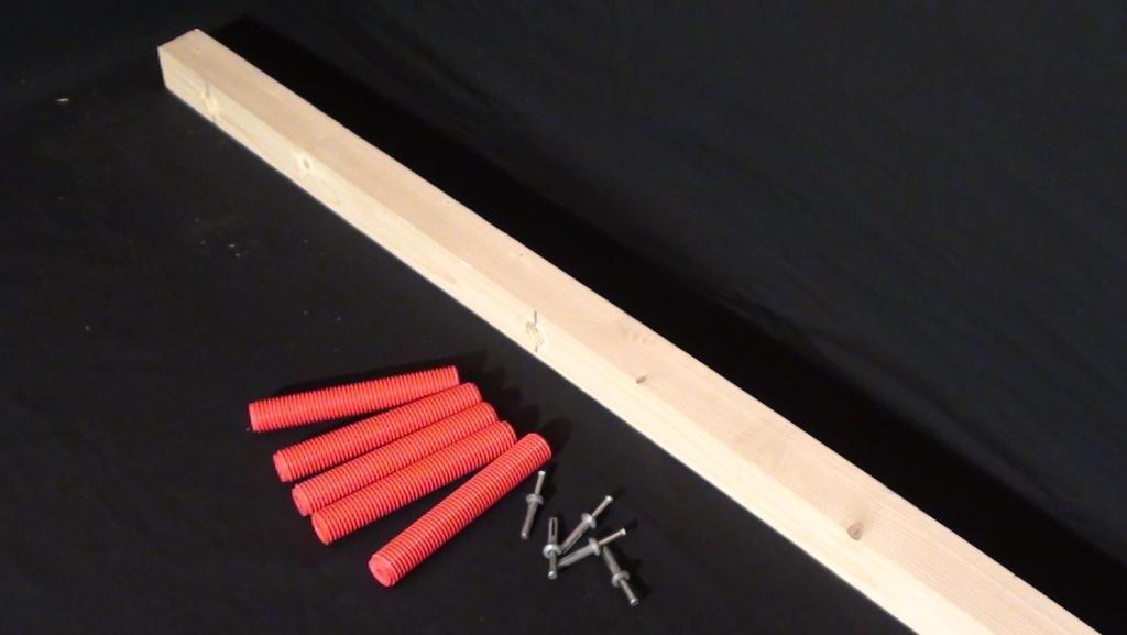Комплект лаг 50*40*1000 мм. (4 шт.), болт 150 мм. (12 шт.),