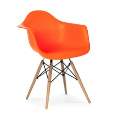 стул  EAMES DAW, оранжевый