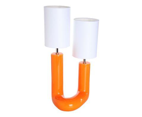 Элитная лампа настольная Вила-ду-Конди оранжевая от Sporvil