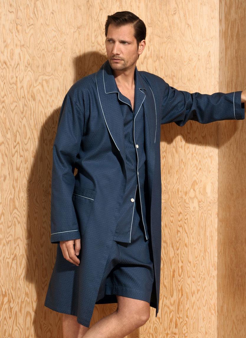 Мужской халат из хлопка Zimmerli (Мужские халаты)