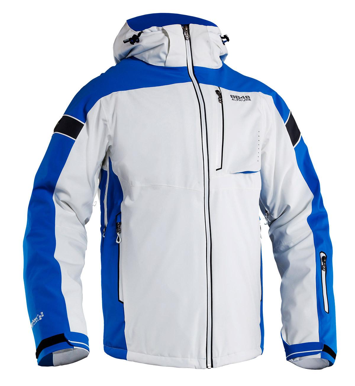 Мужская горнолыжная куртка 8848 ALTITUDE «SWITCH» белая (782952)