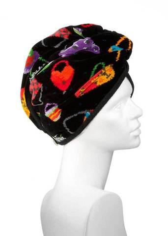 Полотенце для волос Feiler Crazy Bags черное