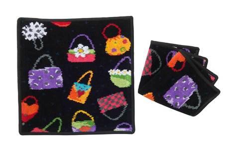 Элитная салфетка шенилловая Crazy Bags от Feiler