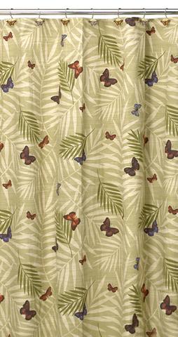 Элитная шторка для ванной Bora Bora от Creative Bath
