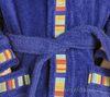 Элитный халат детский махровый Yupi синий от Caleffi