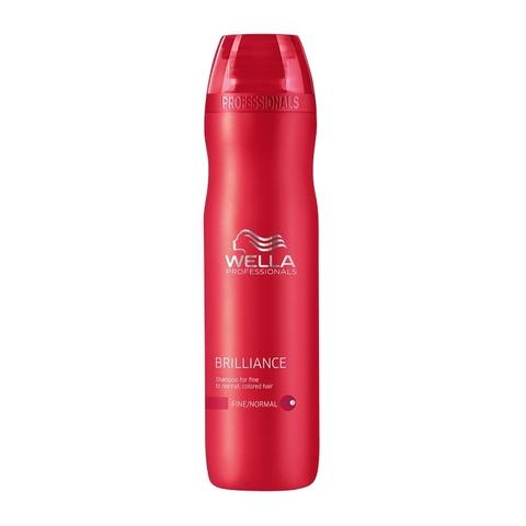 Wella Care3 Шампунь для окрашенных нормальных и тонких волос Brilliance shampoo купить online