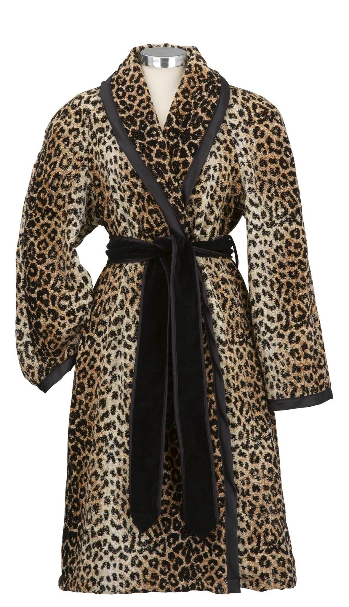 Элитный халат шенилловый Safari Nicole 10 schwarz от Feiler