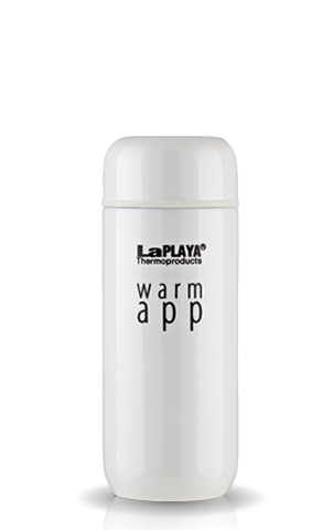 Термос La Playa WarmApp (0.2 литра) белый