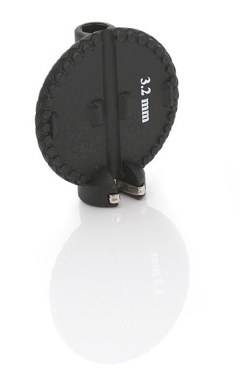 Ключ спицевой XLC Spoke Nipple-Key Border SB-Plus TO-S44