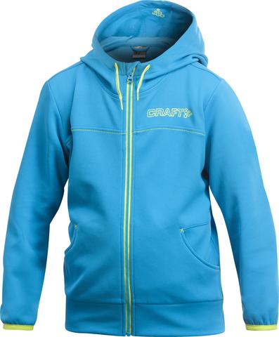 Толстовка Craft Flex Hood детская синяя