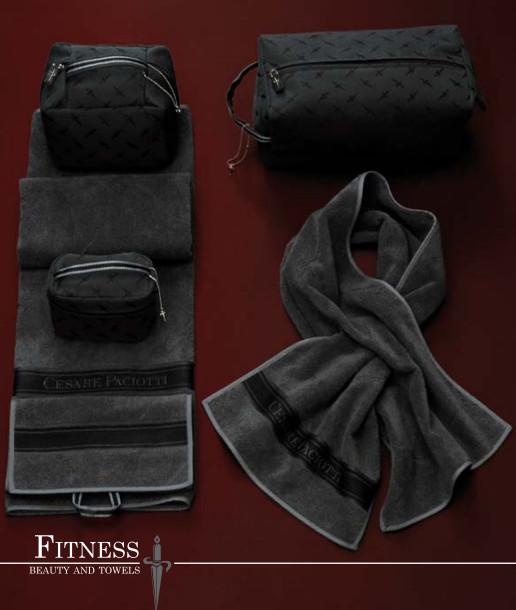 Полотенце 100х170 Cesare Paciotti Fitness красное