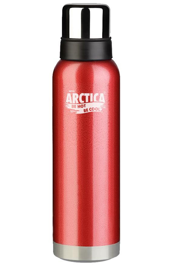 Термос Арктика (1,6 л.) с узким горлом американский дизайн, красный