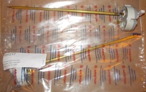 Оригинальный термостат стержневой для водонагревателя Ariston (Аристон) 691217