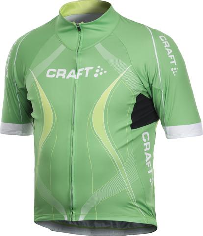 Велофутболка Craft Performance Tour мужская зеленая