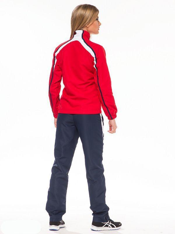 Женский спортивный костюм асикс SUIT PRETTY LADY Red (T817Z5 2650)